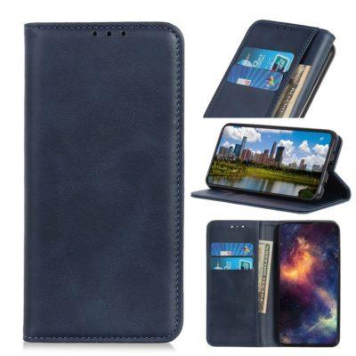 Samsung Galaxy A40 Kannellinen Kotelo Sininen