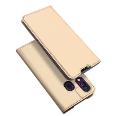 Samsung Galaxy A40 Kotelo Dux Ducis Kulta