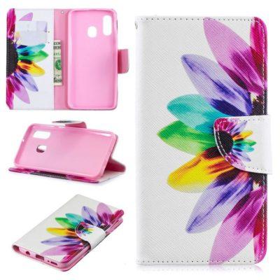 Samsung Galaxy A40 Suojakotelo Kukka 1