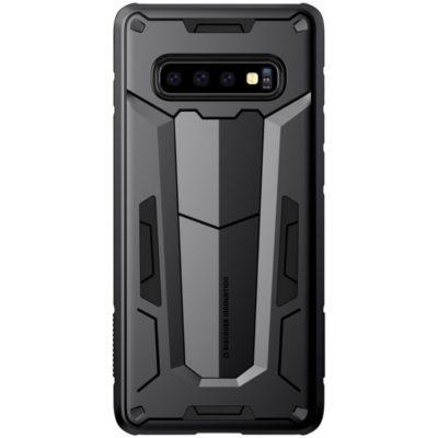 Samsung Galaxy S10+ Suojakuori Nillkin Defender Musta