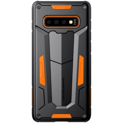 Samsung Galaxy S10+ Suojakuori Nillkin Defender Oranssi