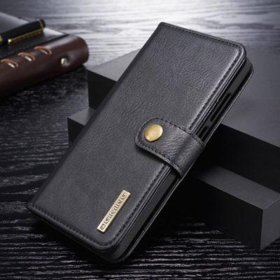 Huawei P30 2-in-1 Nahkakotelo DG.MING Musta