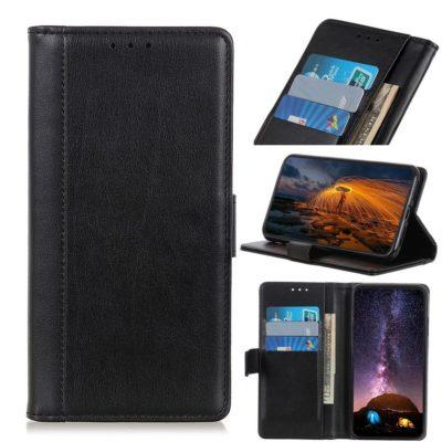 Samsung Galaxy A20e Lompakkokotelo Musta