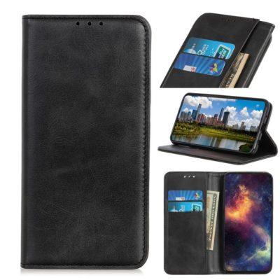 Samsung Galaxy A70 Kannellinen Kotelo Tummanharmaa