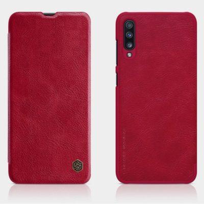 Samsung Galaxy A70 Kotelo Nillkin Qin Punainen