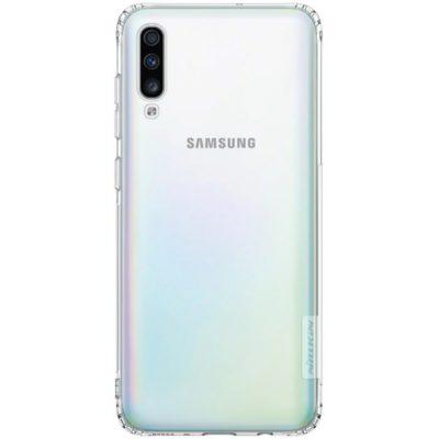 Samsung Galaxy A70 Suojakuori Nillkin Läpinäkyvä