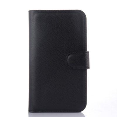 Samsung Galaxy Xcover 3 Suojakotelo Musta Lompakko
