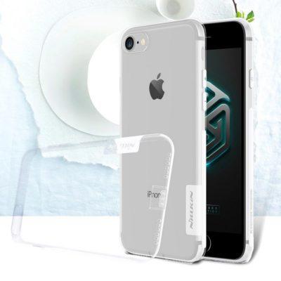Apple iPhone 7 / 8 Suojakuori Nillkin Läpinäkyvä