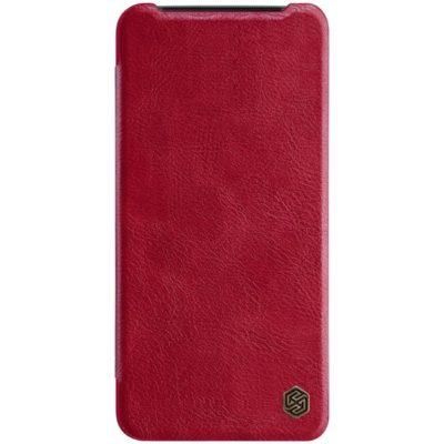 OnePlus 7 Suojakotelo Nillkin Qin Punainen