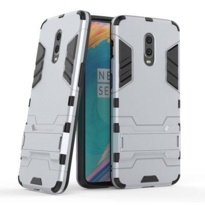 OnePlus 7 Suojakuori 2-osainen Hopea