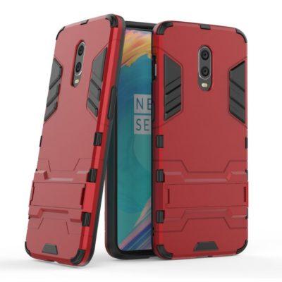 OnePlus 7 Suojakuori 2-osainen Punainen