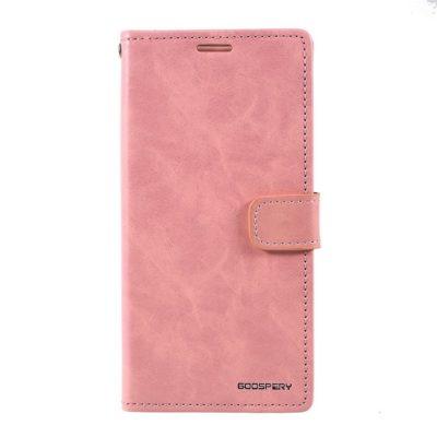 Samsung Galaxy A10 Kotelo Blue Moon Vaaleanpunainen