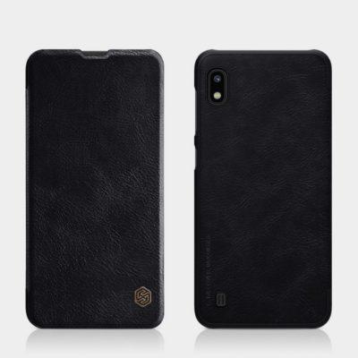 Samsung Galaxy A10 Kotelo Nillkin Qin Musta