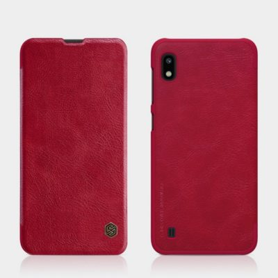 Samsung Galaxy A10 Kotelo Nillkin Qin Punainen