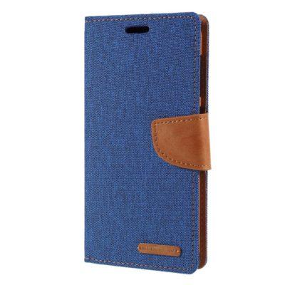 Samsung Galaxy A10 Suojakotelo Canvas Sininen