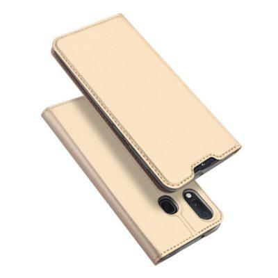 Samsung Galaxy A20e Kotelo Dux Ducis Kulta