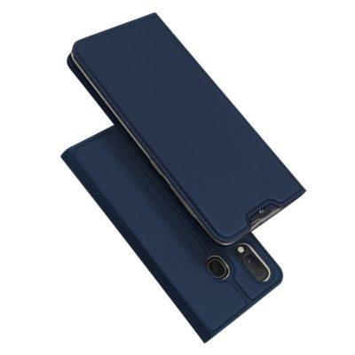 Samsung Galaxy A20e Kotelo Dux Ducis Tummansininen