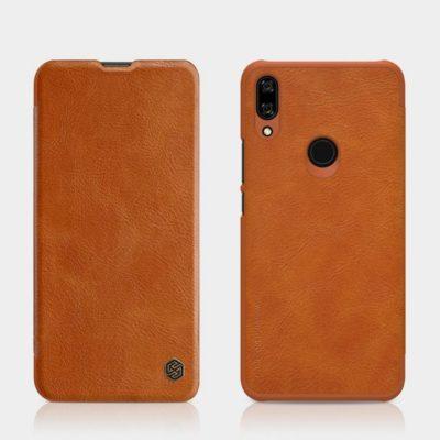 Huawei P Smart Z Kotelo Nillkin Qin Ruskea