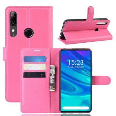 Huawei P Smart Z Kotelo PU-Nahka Pinkki