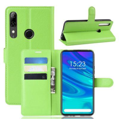 Huawei P Smart Z Kotelo PU-Nahka Vihreä