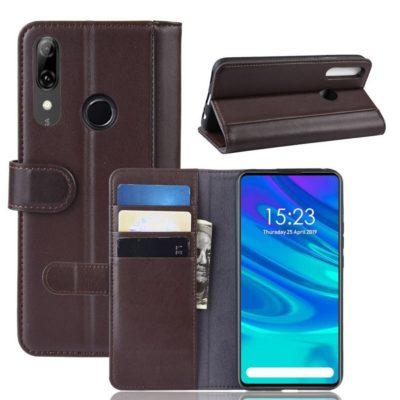 Huawei P Smart Z Suojakotelo Ruskea Nahka