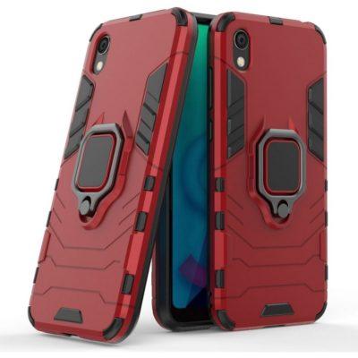 Huawei Y5 (2019) Sormus Suojakuori Punainen