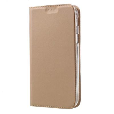 Samsung Galaxy Xcover 4 / 4s Kannellinen Kotelo Kulta