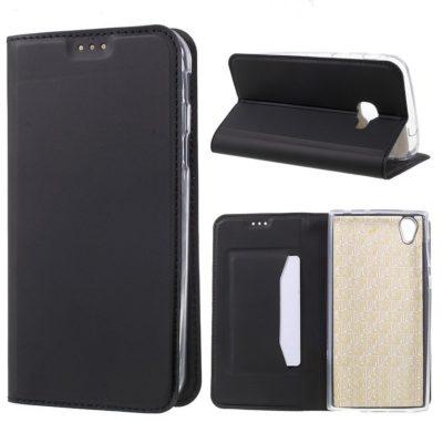 Samsung Galaxy Xcover 4 / 4s Kannellinen Kotelo Musta