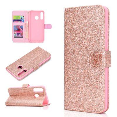 Huawei Honor 20 Lite Suojakotelo Glitter Ruusukulta