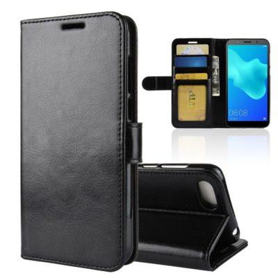 Huawei Honor 7S Suojakotelo Musta Lompakko
