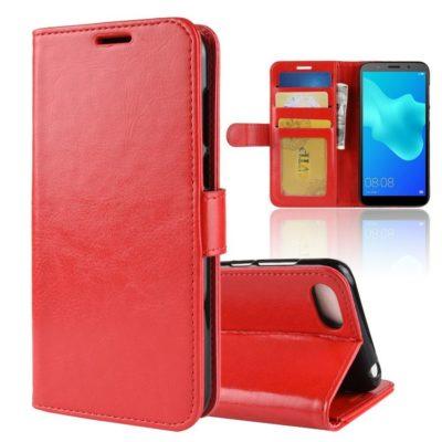 Huawei Honor 7S Suojakotelo Punainen Lompakko