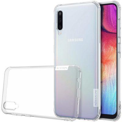 Samsung Galaxy A50 Suojakuori Nillkin Läpinäkyvä