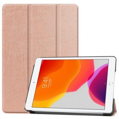Apple iPad 10.2″ (2019) Suojakotelo Ruusukulta