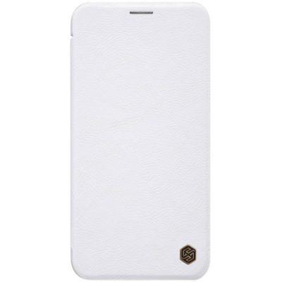 Apple iPhone 11 Kotelo Nillkin Qin Valkoinen