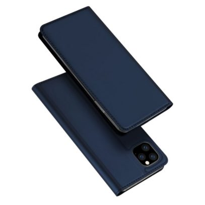 Apple iPhone 11 Pro Kotelo Dux Ducis Tummansininen