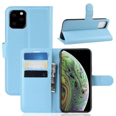 Apple iPhone 11 Pro Lompakko Suojakotelo Sininen