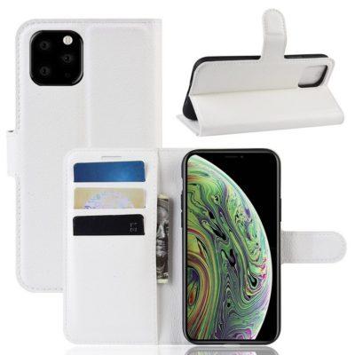 Apple iPhone 11 Pro Lompakko Suojakotelo Valkoinen