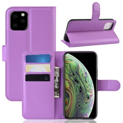 Apple iPhone 11 Pro Lompakko Suojakotelo Violetti