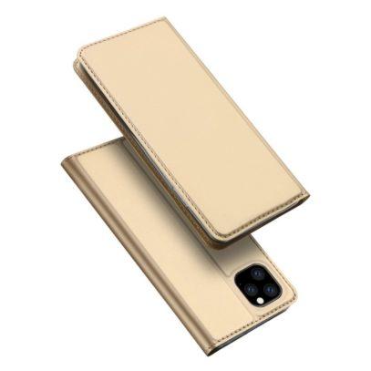 Apple iPhone 11 Pro Max Kotelo Dux Ducis Kulta