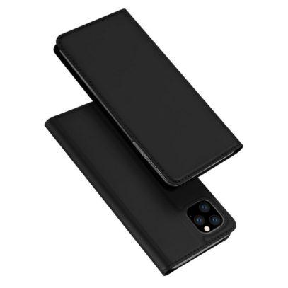Apple iPhone 11 Pro Max Kotelo Dux Ducis Musta
