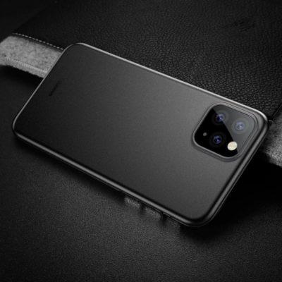 Apple iPhone 11 Pro Max Suojakuori Baseus Wing Musta