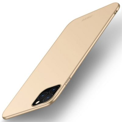 Apple iPhone 11 Pro Max Suojakuori MOFI Slim Kulta