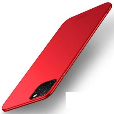 Apple iPhone 11 Pro Max Suojakuori MOFI Slim Punainen
