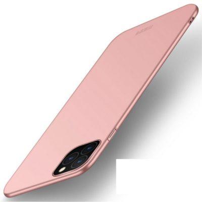 Apple iPhone 11 Pro Max Suojakuori MOFI Slim Ruusukulta