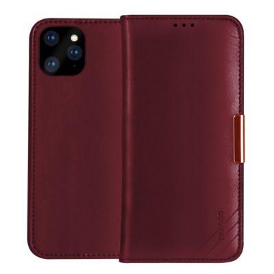 Apple iPhone 11 Pro Nahkakotelo DZGOGO Punainen
