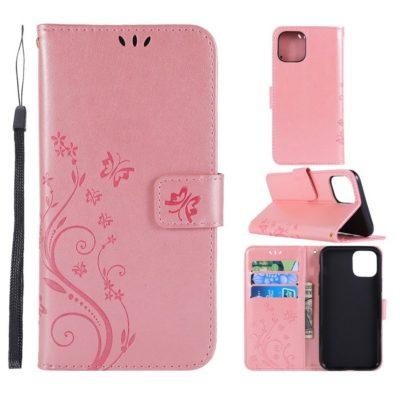 Apple iPhone 11 Pro Suojakotelo Kukka Ruusukulta