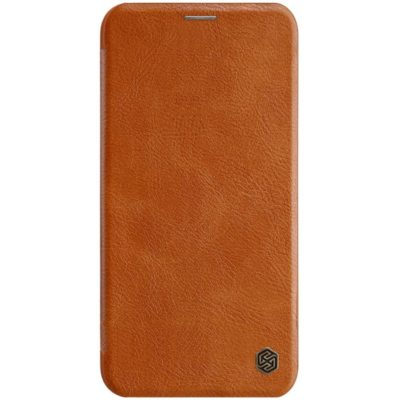 Apple iPhone 11 Pro Suojakotelo Nillkin Qin Ruskea