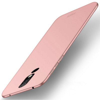 Nokia 4.2 Suojakuori MOFI Slim Ruusukulta