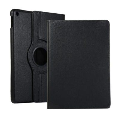 Apple iPad 10.2″ (2019) 360° Kääntyvä Kotelo Musta