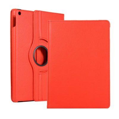 Apple iPad 10.2″ (2019) 360° Kääntyvä Kotelo Punainen